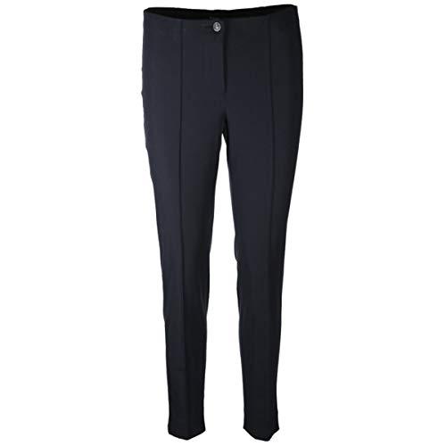 Preisvergleich Produktbild Cambio Slim-Fit Hose 'Ros' mit Biesendetails Marine (496 deep Midnight bl) 36 / 29