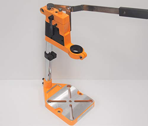 Hoteche Drill Stand Press Holder Benchtop Rotary Tool Workstation