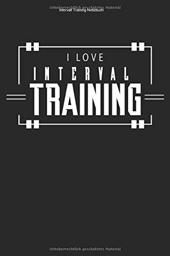 Intervall Training Notizbuch: 100 Seiten | Linierter Inhalt | Workout Cardio Fitness Ausdauersport Geschenk Sportart Sport Ausdauer Team