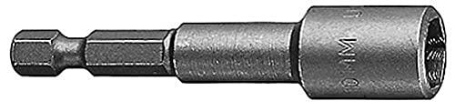 Bosch Professional Steckschlüssel für Sechskantschrauben (Schlüsselweite: 10 mm, Länge: 65 mm)