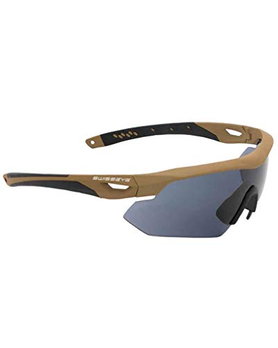 Swiss Eye Tactical Brille Nighthawk mit Wechselscheiben (Coyote)