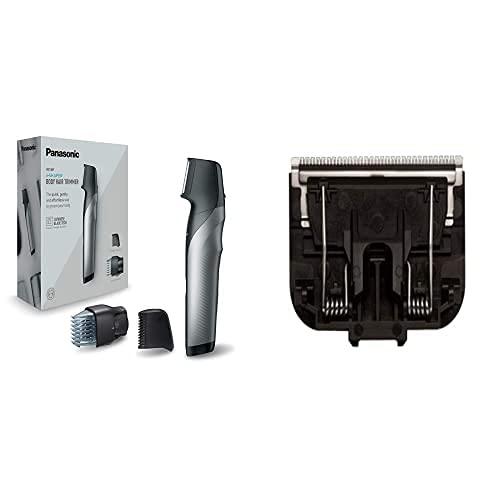 Panasonic ER-GK80-S503 Recortadora Corporal Recargable para hombre, Negro + Panasonic Wer9500 Recambio Rasadura Corporal