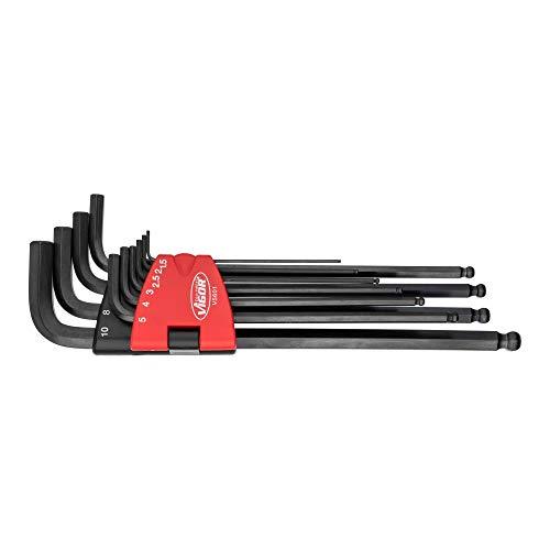 VIGOR Winkelschraubendreher-Satz V5601 ∙ Innen-Sechskant Profil ∙ Anzahl Werkzeuge: 10