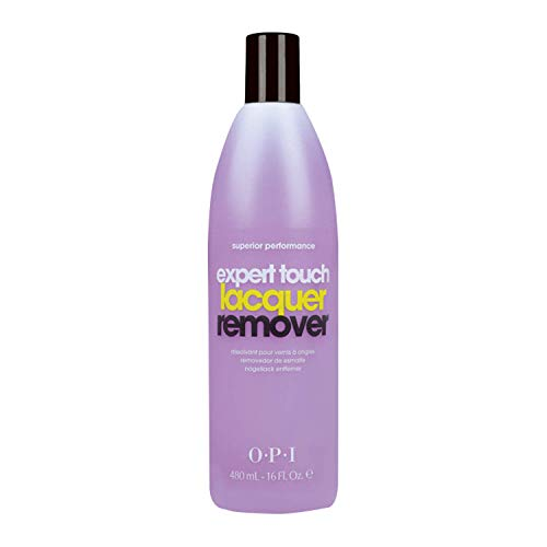 OPI Expert Touch - Quitaesmalte Disolvente de Esmalte de Uñas - 110 ml