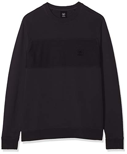 Strellson Premium Herren J-SC-Sterling-R Sweatshirt, Schwarz (Black 001), Large (Herstellergröße: L)