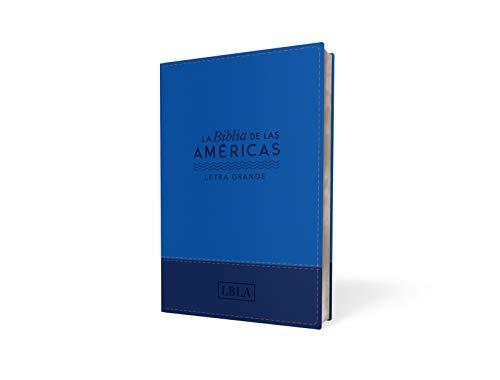 Compare Textbook Prices for LBLA, Santa Biblia, Letra grande tamaño manual, Leathersoft Spanish Edition Large Print Edition ISBN 9780829768275 by La Biblia de las Américas  LBLA