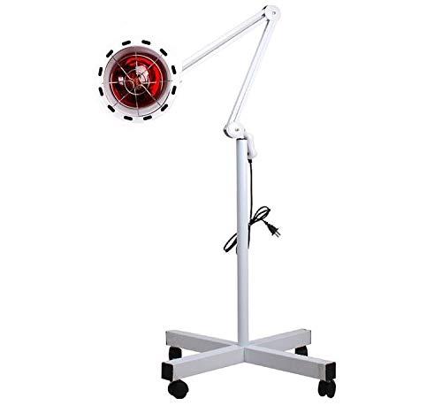 JUEYAN Infrarot Lampe 275W Infrarotstrahler Infrarotlampe Wärmelampe Rotlicht Strahler Rotlicht Lampe mit Rädern Infrarotstrahlung