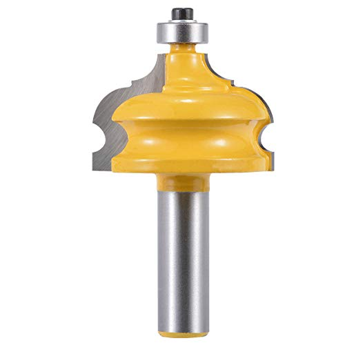 KATUR Classical and Bead Molding and Edging Router Bit Classical Cove Edging Router Bit with 1/2 Inch Shank(1/2