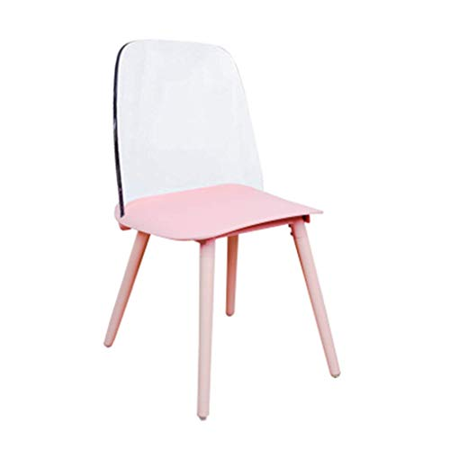 ch-AIR Net Red Nordic Transparent Dining Chair Designer Bar Coffee Shop Dressing Chair Ins Acryl Crystal Crystal Ghost Chair,1