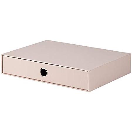 Rössler S.O.H.O. 1524452580 Boîte de rangement pour tiroir Format A4 avec trou de préhension