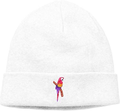 Preisvergleich Produktbild Voxpkrs Adult Skull Cap Beanie Color Parrot Knitted Hat Headwear Winter Warm Hip-hop Hat Cool 32829