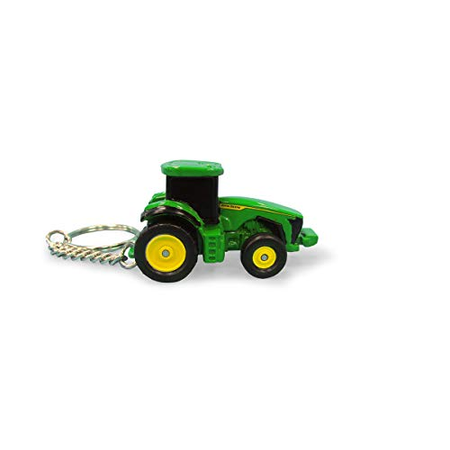 John Deere 8R 410 Tractor Die-Cast Key Chain (1)