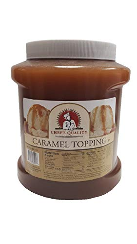 Chef's Quality Caramel Ice Cream Topping 5 Pounds