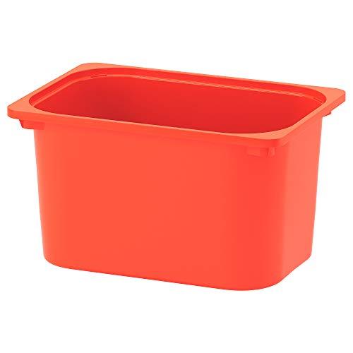 TROFAST caja de almacenamiento 42x30x23 cm naranja