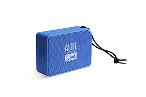 Altec Lansing One AL-SNDBS2-001.182 - Altavoz portátil Bluetooth, Color Azul