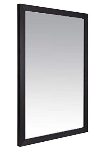 MirrorOutlet LG147A, Resina, Negro, 83 x 58