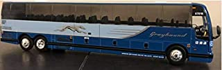 Iconic Replicas Greyhound Prevost X-345 Bus 1/87 Scale- HO Scale New! Limited Edition! Houston, Texas