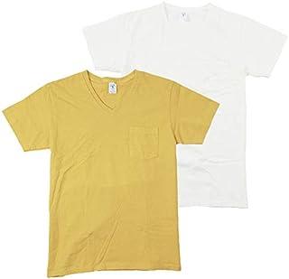 Velva Sheen(ベルバシーン) 2パック Vネック 半袖 ポケットTシャツ パックT 2PACK V-NECK SHORT SLEEVE POCKET TEE Pack-T 160922