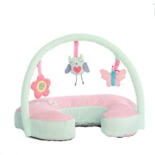 Baby GOUO@ Oreiller d'allaitement Maternel Taille câlin Soutien Oreiller d'allaitement Lait Anti-traite Nouveau-né 0-6 Mois côté bébé auxiliaire Apprendre à s'asseoir