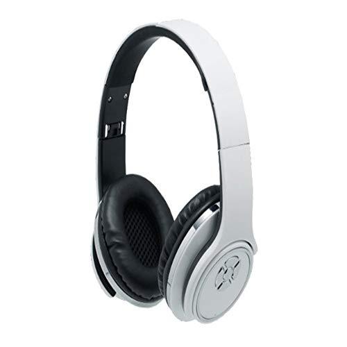 SHWEJ Bluetooth koptelefoon met microfoon, geschikt voor iPhone, laptop, tablet, kantoor, basgeluid