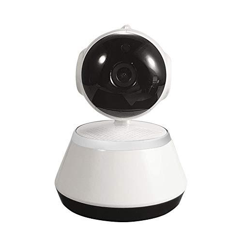 Cámara IP de seguridad para el hogar inalámbrica inteligente cámaras WiFi WI-FI Monitor de grabación de audio (color: blanco)
