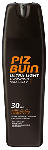 Piz Buin - Protección Solar Ultra Light 30 Spray, 200 ml