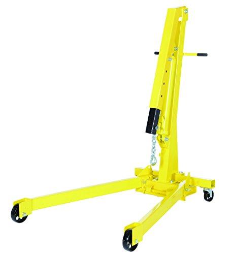 Vestil EHN-20-C Heavy Duty Steel Shop Crane Engine Hoist with Folding Legs 2000 lbs Capacity