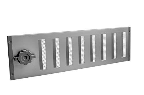 Lüftungsgitter LG 5015 SAA Schiebegitter Alu Eloxiert 500 x 150 mm Abluftgitter