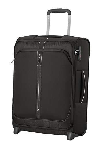 Samsonite Popsoda Luggage- Carry-On Luggage, Upright S (55 cm - 41 L), Black (Black)