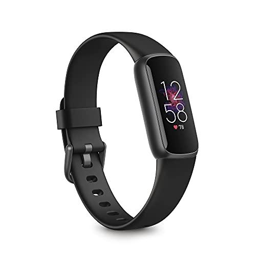 Fitbit Luxe フィットネストラッカー ブラック/グラファイト L Sサイズ [日本正規品] FB422BKBK-FRCJK