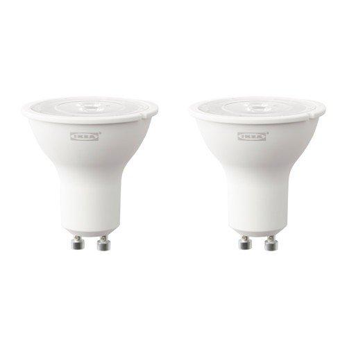 IKEA Ryet LED-Glühbirne, 3W, GU10,200Lumen, 2Stück