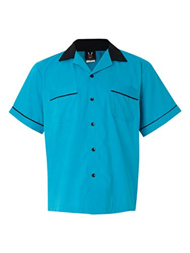 Hilton Bowling Retro Gm Legend (Turquoise_Black) (S)