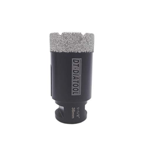 DT-DIATOOL 1-1/2 Inch Diamond Drill Bits for Tile Granite Marble Stone Brick Diameter 38mm