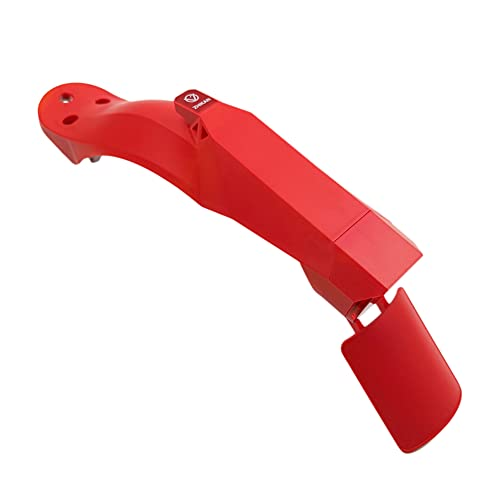 Binogram Guardabarros Trasero de Scooter EléCtrico Kit de Guardabarros Protector de Barro de NeumáTicos Juego de Tapones de Silicona para M365 / Rojo