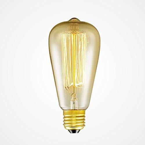RAQ gloeilampen E26/27 base 220 V gloeilampen 40 W warme gloeilamp voor licht E27 220 V.