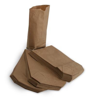1000 Kreuzbodenbeutel 23 x 37 cm braun Natron für 2,5 kg gefädelt Bodenbeutel Tüten Papiertüten Papierbodenbeutel