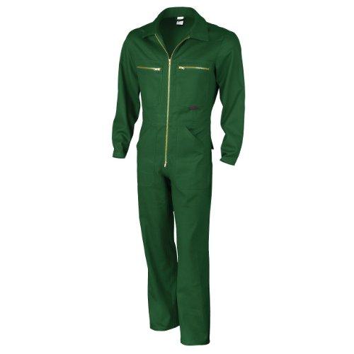 Qualitex - Tuta intera 270 g 9010/1, da donna, colore verde, 98 (EU)