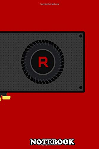 Notebook: Amd Vega 64 , Journal for Writing, College Ruled Size 6
