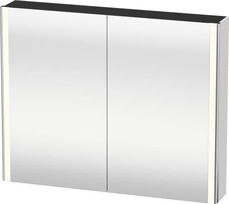 Duravit XSquare spiegelkast met LED-verlichting 100,0x15,6 cm, Kleur (voorzijde/karkas): Jade hoogglans lak - XS711300303