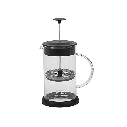 RESTO Atria French Press Café/té Preparado de vidrio de borosilicato con una capacidad de, 0,6 litros