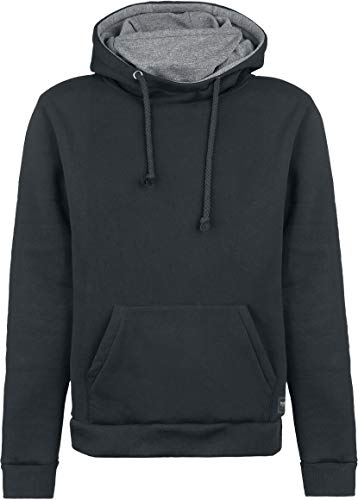 Black Premium by EMP Bodies Homme Sweat-Shirt à Capuche Noir/Gris L