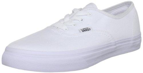 Vans Authentic, Basket mode mixte enfant - Blanc (True White) 24 EU