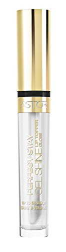 Astor Perfect Stay Gel Shine Lip Topper, Farbe 001, 1er Pack