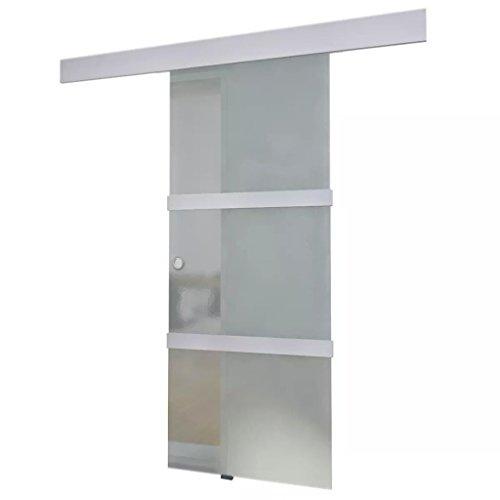 mewmewcat Schiebetür aus Glas 205 x 75 cm