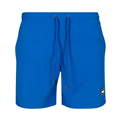 Urban Classics Block Swim Shorts Pantaloncini da Bagno, Cobalt Blue, XL Uomo