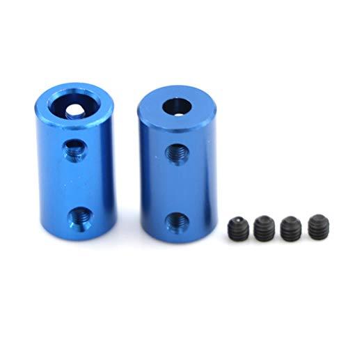 Metal Acoplamiento de mineral de 5 mm 8 mm para impresoras 3D Piezas Parte de tornillo de acoplamiento de eje flexible azul para accesorios de motor paso a paso 1pc ( Inner Diameter : 5x8mm )