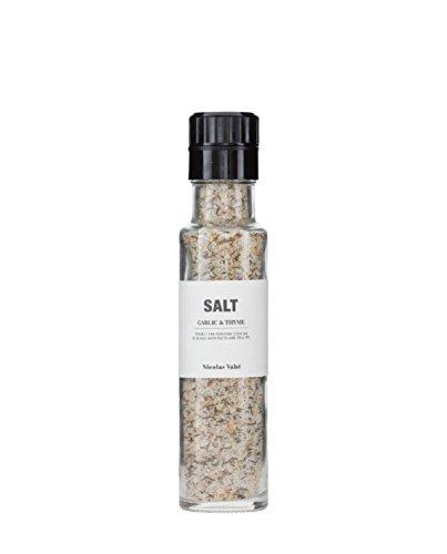 Salz Knoblauch Thymian, 300g Salzmühle