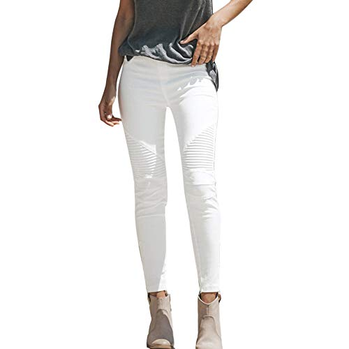 FRAUIT damesjeansbroek, hoge taille, stretchbroek, jeans, leggings skinny slim fitnessbroek, onlultimate soft reg. Skinny White Pants Wit denim jeans broek leggings