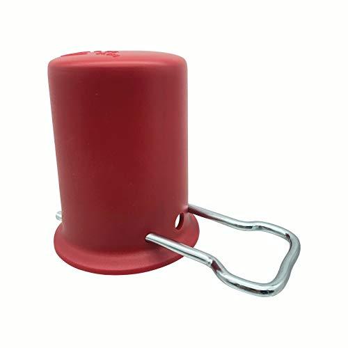 Kleingebinde- & Schutzkappe   Für Propan- und Gasflaschen   Farbe: rot