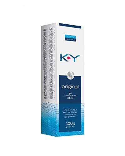 K-Y Gel Lubrificante Intimo Bisnaga 100G, K-Y